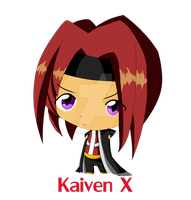 ..::Commission::... Kaiven X by Ivy-Mitsuno
