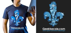 Geekbecois shirt by davidwehmeyer