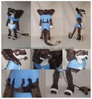 Completed Aten Plush Commission by dot-DOLL