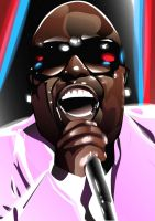 Cee Lo Green is a Soul Machine by eosvector