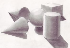 Shapes - Pencil by JessicaDru