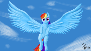 Rainbow Dash by ChaosArts1989