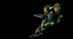 Samus Strikes Back by jokoso