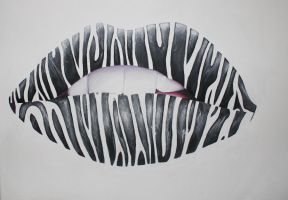 Zebra lips by ahsr