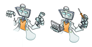 Dr. Robot 2 by M-S-S