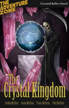 The Crystal Kingdom Novel Cover by summerintevinter