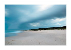Sharpes Beach Stormfront by Cameron-Jung