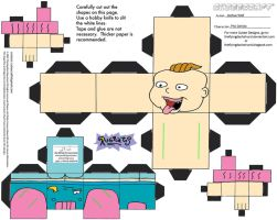 RR: Phil DeVille Cubee by TheFlyingDachshund