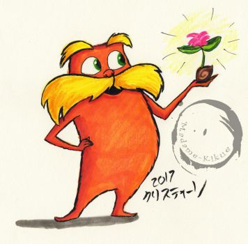 Lorax with a Seed by Madame-Kikue