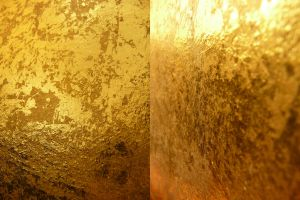 Gold Metallic Texture II by Melyssah6-Stock