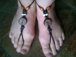 Barefoot sandals by Anocken