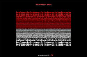 indonesia raya by bd33ps