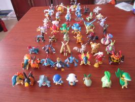 My Pokemon Tomy Collection 2 by ImNotParanoid