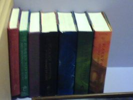 My Harry Potter Book illusion by Elementalist-1