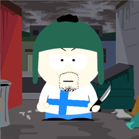 SATW Finland South Park style by ABtheButterfly