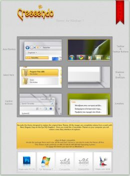 Crescendo Theme for Win7 by giannisgx89