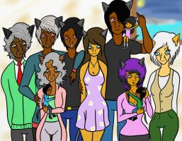 Dhoo family by WrongCog