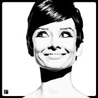 Audrey Hepburn II by monsteroftheid