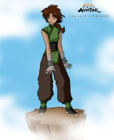 Earthbender Zhu by CrimsonRavenDesign