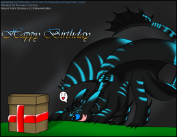 HTTYD: Happy Birthday Majime by SrMario