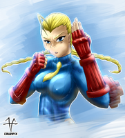Cammy in My style by 0CRUZIFIX0