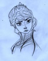 Queen Elsa - Frozen by SophiaLiNkInFaN93
