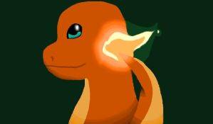 Charmander (Different shading) by TeamRocketJess