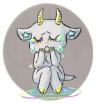 Sad sad goat by IncubusGrave