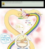 Q31 - Love Is In The Air by Ask-Awesome-Finn