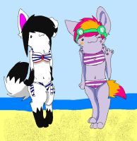 Idiots on Vacation by Miineh