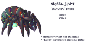 Abyssal Spider variant by sulfurbunny