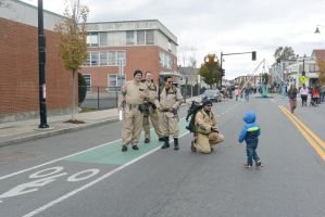 Who Ya Gonna Call,Ghost Busters Meeting The Public by Miss-Tbones