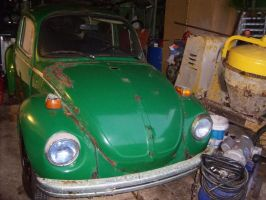 1970's VW Beetle by Mister-Lou