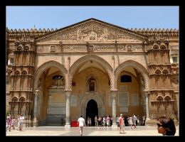 Entrance To The Cathedralle - Palermo by skarzynscy