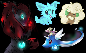 Pokemon Requests Batch by Eevie-chu