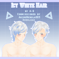 Icy White Hair [ Commission + DL ] by avant----garde