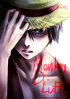 Monkey D. Luffy by Cygnetzzz