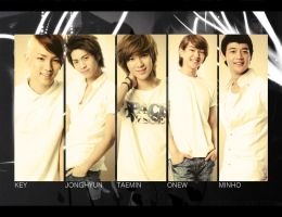 SHINee: Group Wallpaper by KirstyR