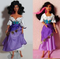 Disney Esmaralda OOAK doll by lulemee