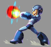 Marvel VS Capcom 2: Mega Man by UdonCrew