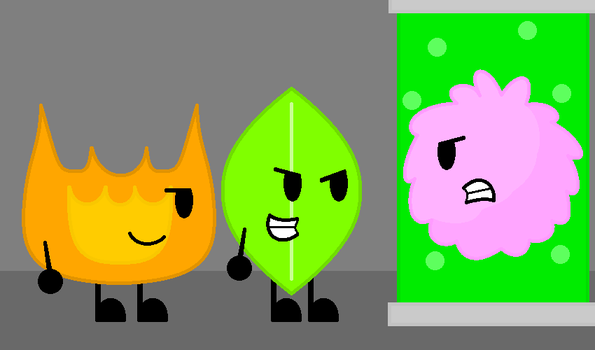 The revenge of Firey and Leafy by AgentEliteFirey