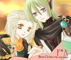 Faize and Amina by seria0808191