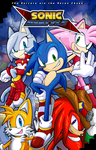 -Sonic Restyle Poster- by v-16