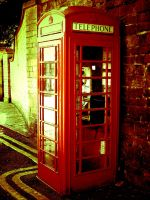 Old British Phone Box by Owt-n-Abowt