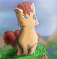 The Vulpix by Jo-Onis