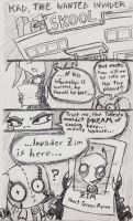 Kad, The Wanted Invader pg.1 by echotheoutsider101