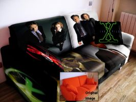 X-Files Couch by lunatic-high
