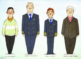 The Cabin Crew by Robynium