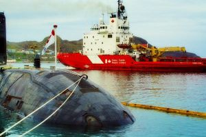 Submarine and the Coast Guard by Lydia-distracted