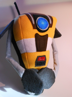 New and Improved Claptrap Plush *For Sale* by FuzzyAliens